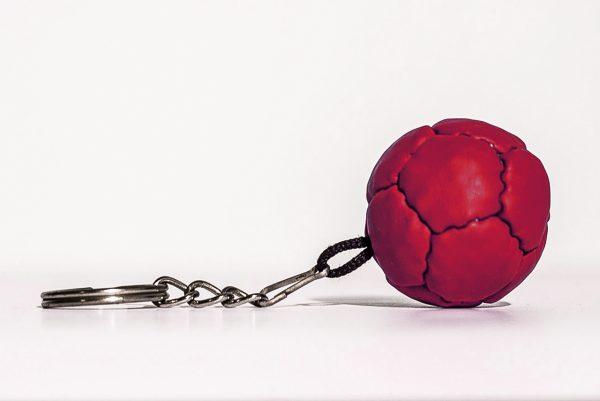 Boccas Ball Keychain